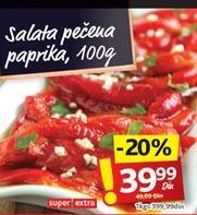Salata paprika pečena