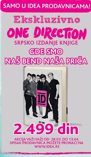 Knjiga One Direction
