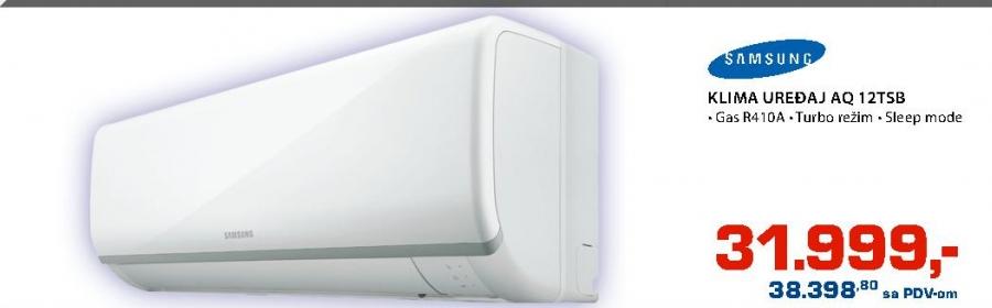 Klima uređaj AQ 12TSB