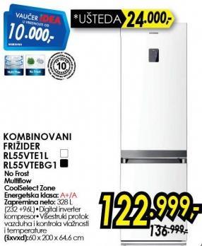 Kombinovani frižider Rl55vte1l