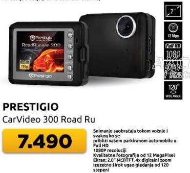 Auto kamera CarVideo 300 Road Ru