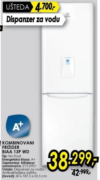Kombinovani frižider BIAA13PWD