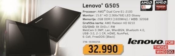 Laptop G505 9390256
