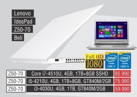 Laptop IdeaPad Z50-70