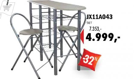 Set stolice i sto, JX11A043