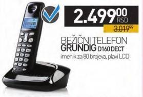 Bežični telefon D160 Dect