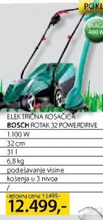 Električna kosačica ROTAK 32 POWERDRIVE