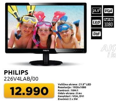 "Monitor 21,5"" 226v4lab/oo"