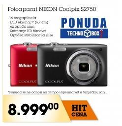 Fotoaparat Coolpix S2750