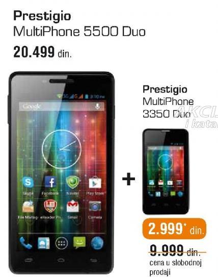 Mobilni telefon Multiphone 5500 Duo