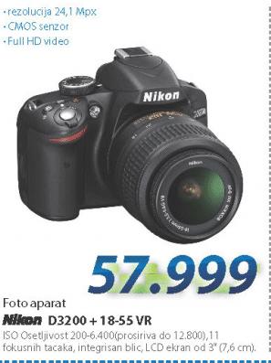 Fotoaparat  D3200 18-55VR