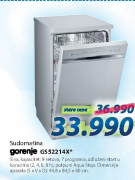 Sudomašina GS52214X