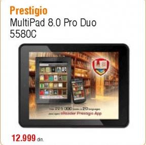 Multipad 8.0 Pro Duo 5580C