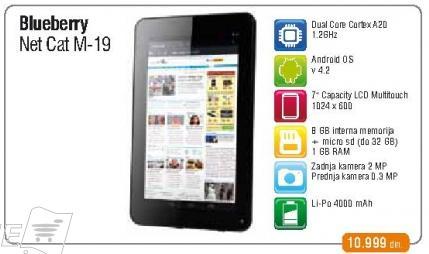 Tablet NetCat M-19