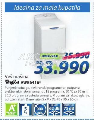 Veš mašina AWE6416