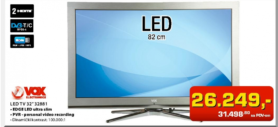 "LED Tv 32"" 32881"