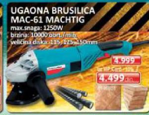 UGAONA BRUSILICA MAC-61
