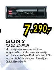 Auto radio Dsxa 40 Eur