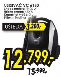 Usisivač VC6180