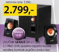 Zvučnici Sw-2.1 380