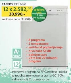 Sudomašina Cdpe 6320