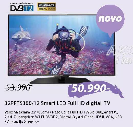 """Televizor LED 32"""" 32PFT5300/12"""