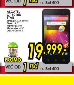 Mobilni telefoni OT-6010D