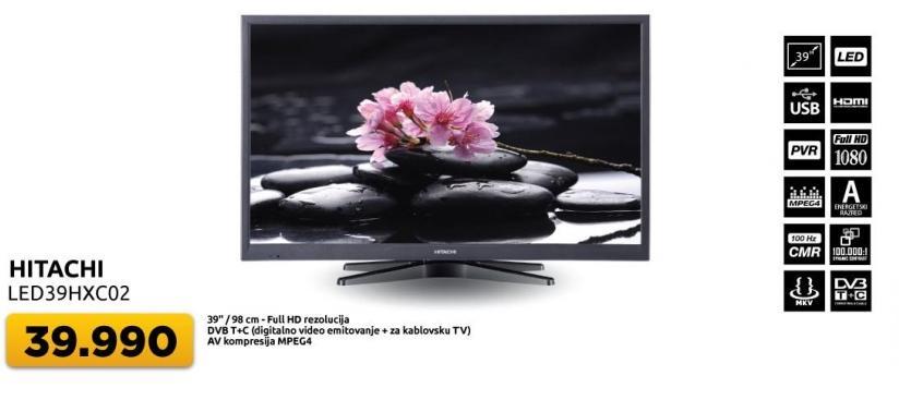 """Televizor LED 39"""" 39Hxc02"""
