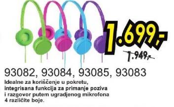 Slušalice 93083