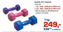 Ručni PVC tegovi
