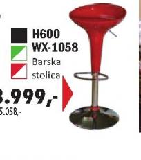 Barska stolica H6000 WX-1058