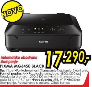 Multifunkcionalni uređaj Pixma Mg6450 Black