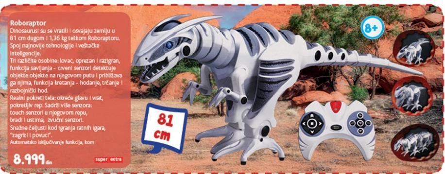 Igračka Roboraptor
