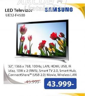 Televizor LED UE32-F4500