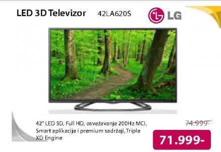 """Televizor LED 42"""" 3D 42LA620S"""