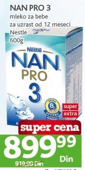 Mleko za bebe Nan