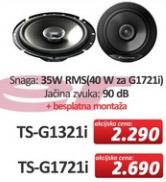 Auto Zvučnici TS-G1721i
