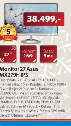 Monitor MX279H