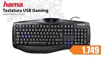 Tastatura USB gaming
