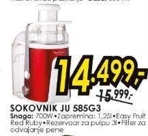 Sokovnik JU 585G3