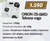 Telesna vaga Os-06Rd Orion
