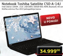 Laptop Satellite C50-A-14J