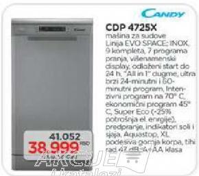 Sudomašina CDP 4725X