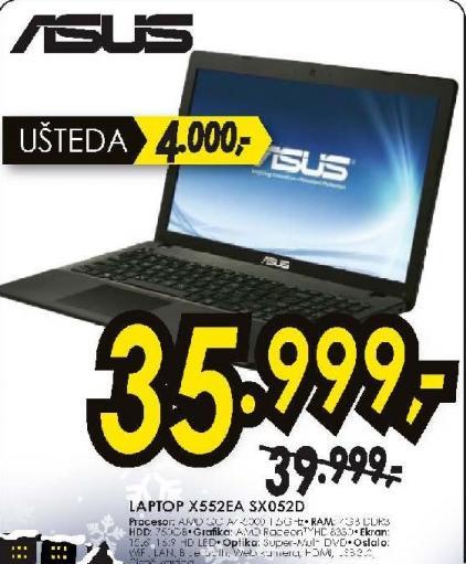 Laptop X552EA-SX052D