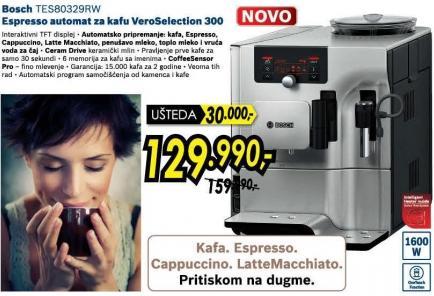 Espresso automat za kafu Vero Selection 300 Tes80329rw