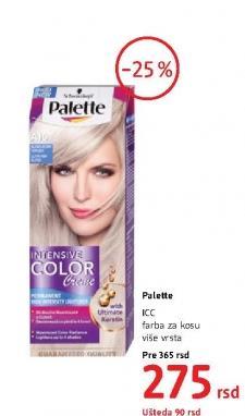 Farba za kosu ICC/PNC