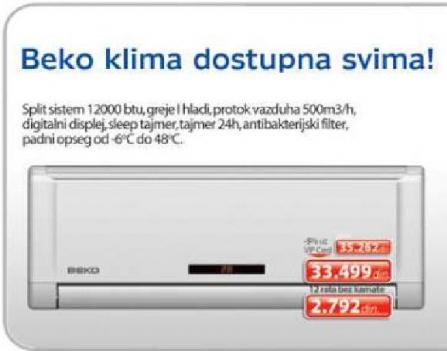 Klima uređaj BXK 120
