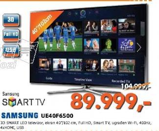 Televizor 3D LED UE40F6500