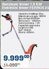 Benzinski trimer 1,9KW