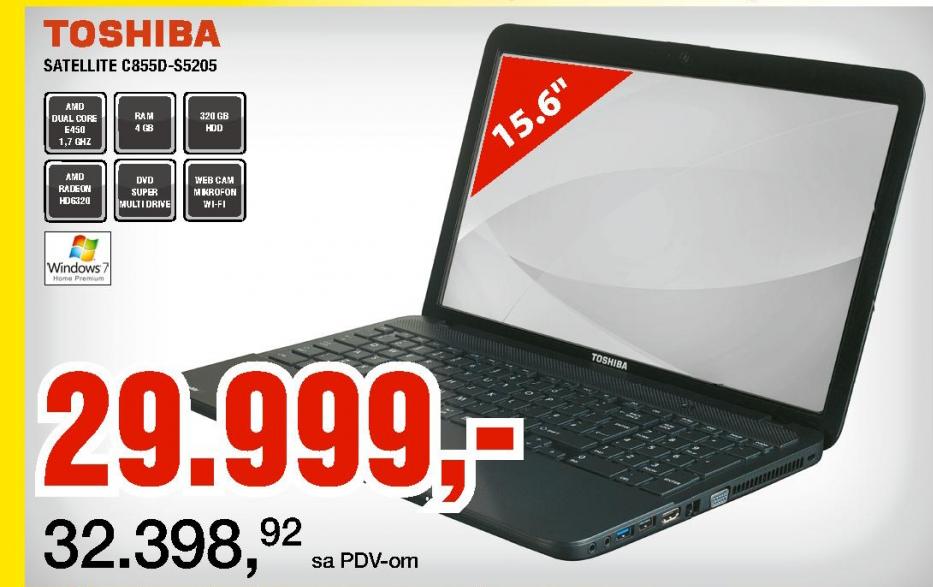 Laptop Satellite C855D-S5205